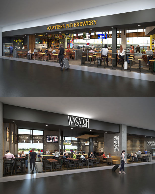 SLC airport new Squatters renderings