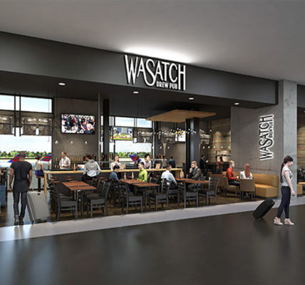 SLC airport new Wasatch rendering