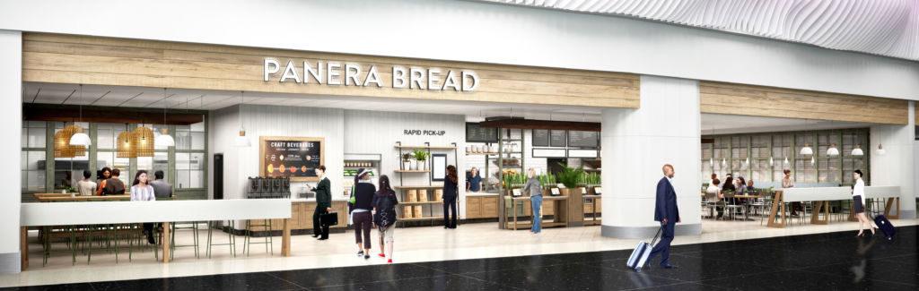 Panera Bread rendering