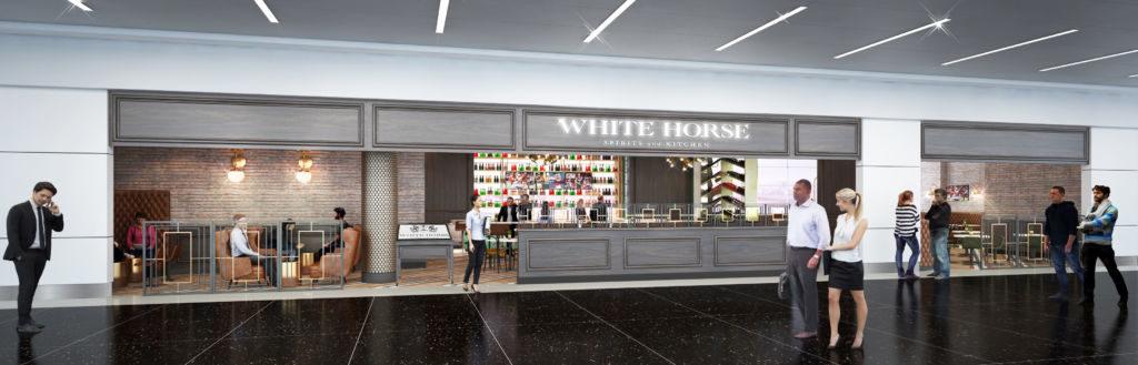 White Horse rendering