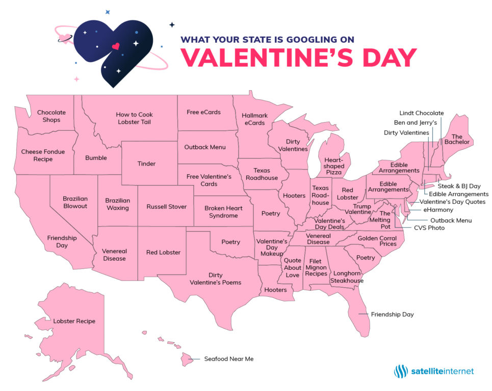 Utah's most popular Valentine's Day search might burn a little
