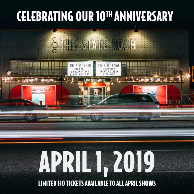 10th Anniversary Celebrations with JD McPherson plus $10 Tickets to all shows in April