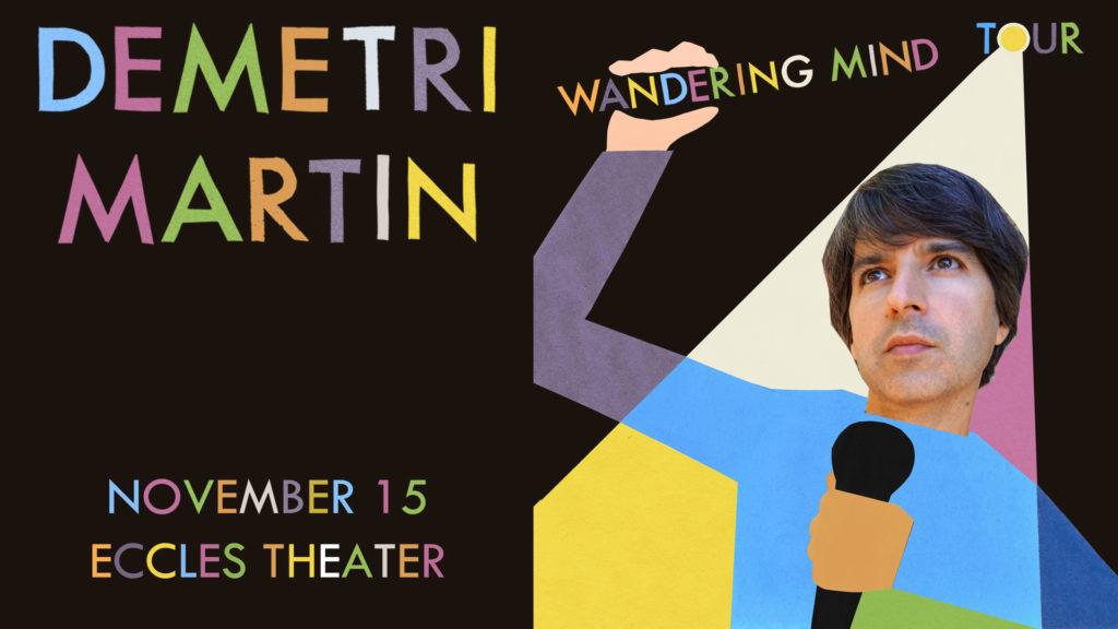 Demetri Martin live in SLC (Live At The Eccles)