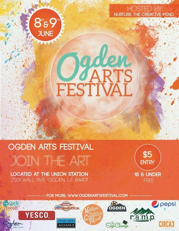 Join The Art! Ogden Arts Festival Returns to Union Station