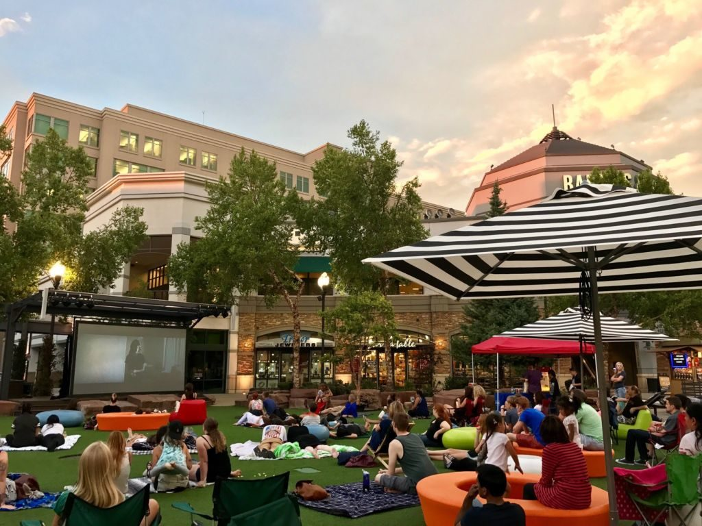 Free movies at the plaza (The Gateway)
