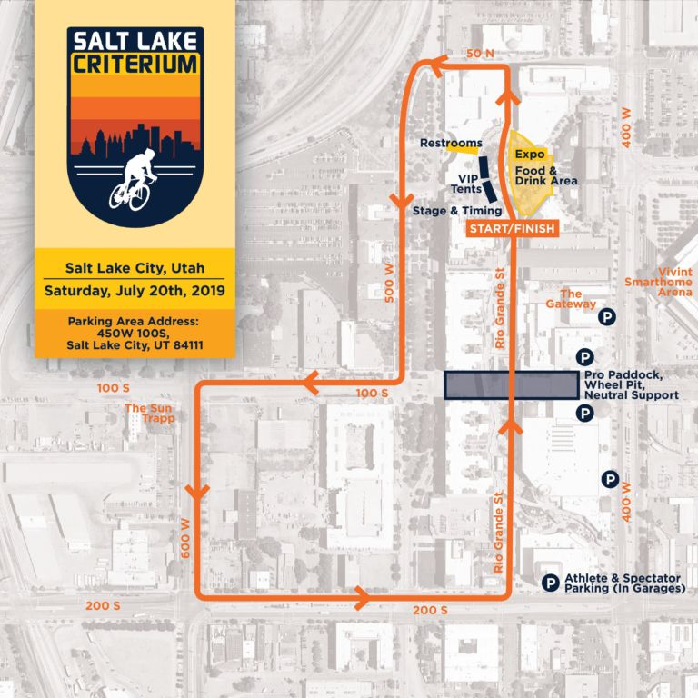SLC Course Map